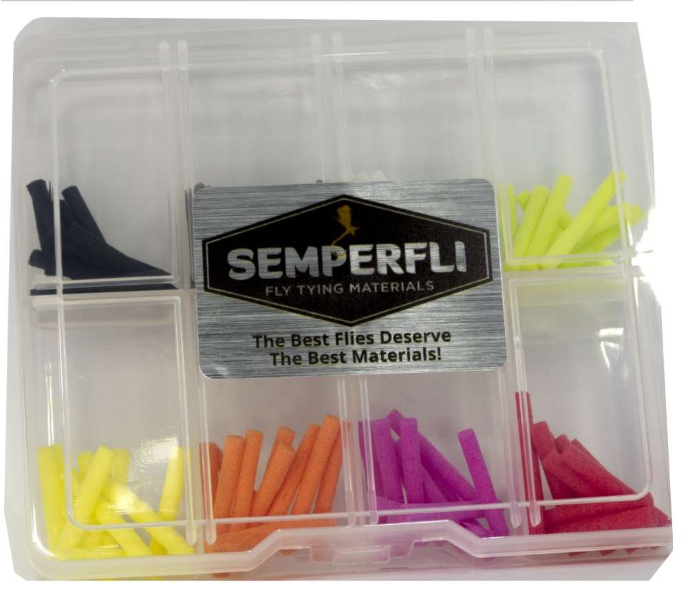 Semperfli - Foam Tube - 3mm - Mixed Pack